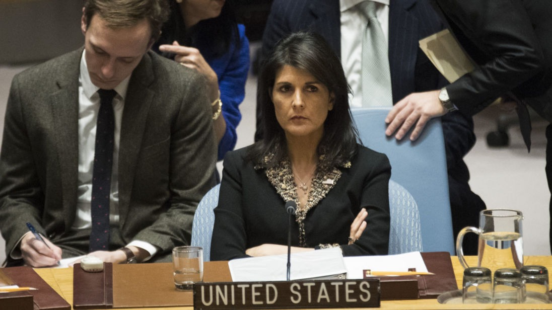UNSC: US vetoes resolution against recognizing Jerusalem as Israel's capital