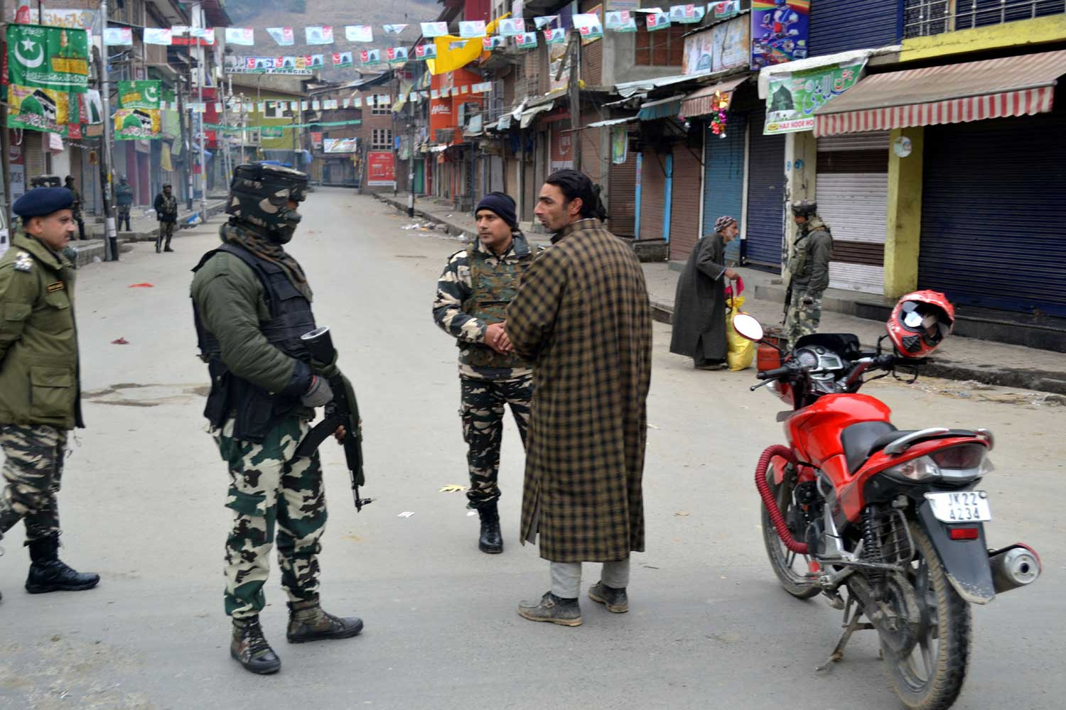 Restrictions imposed in Srinagar to prevent separatist rally