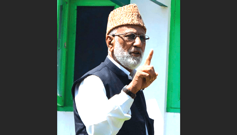 Syed Ali Shah Geelani quits as Tehreek-e-Hurriyat party chairman but will continue to head Hurriyat