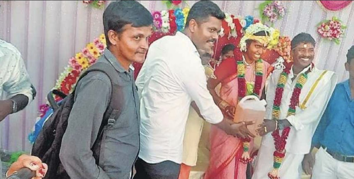 South Indian Groom Receives 5 Litre Petrol As Wedding Gift Following