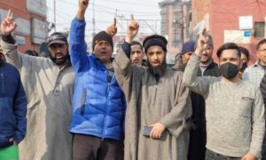 Residents protest as army digs playfield in Srinagar's Chattabal, say 'apprehensive about land grabbing'